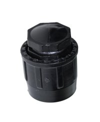 PE-easy End Plug for 25 mm PE-Tube bolted