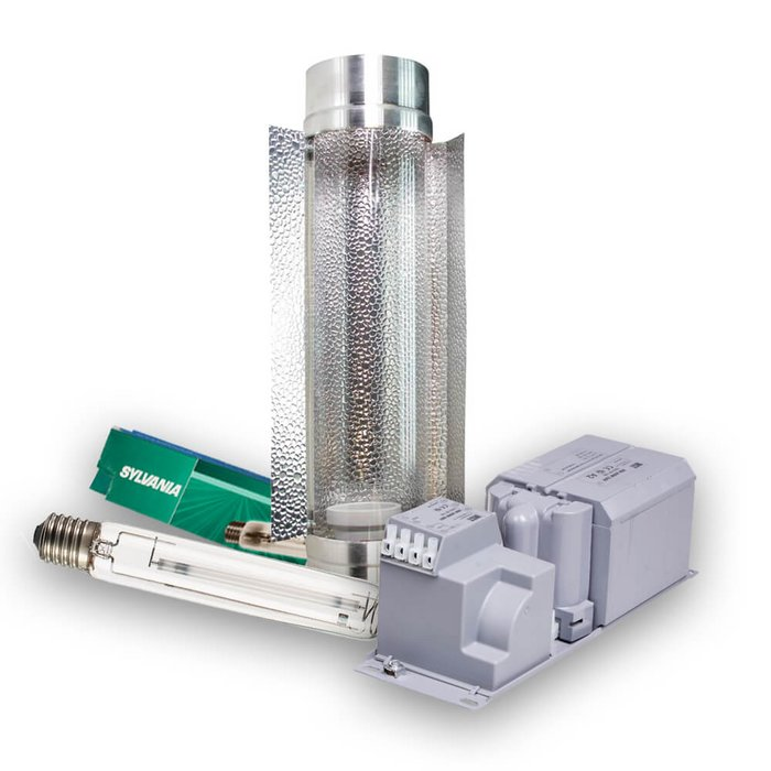 Verlichting Set 600W HPS Sylvania SHP-TS - Cooltube...