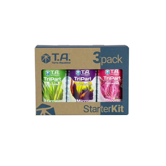 GHE TriPart Startkit 0,5 L (FloraSeries)