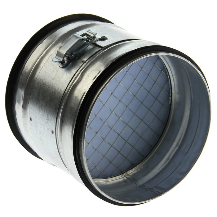 Ronde luchttoevoer-filter 100mm diameter