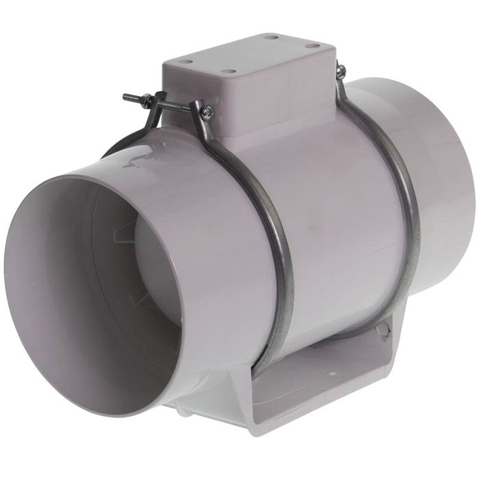 Turbo Buisventilator 240m³ - 125mm