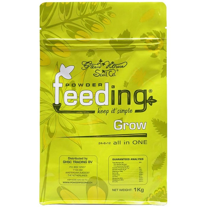 Powder Feeding Grow Granulaat meststof 1kg