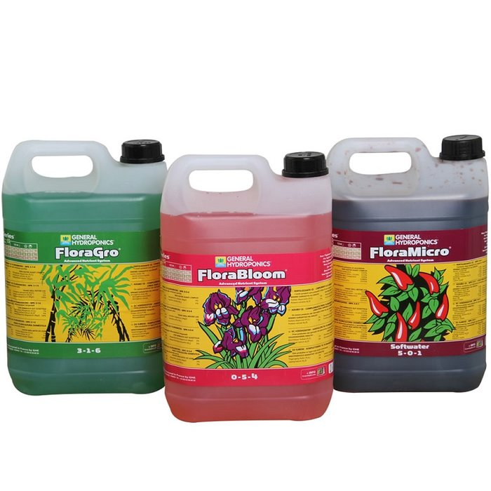 GHE Flora Series Set Soft - 5 Liter