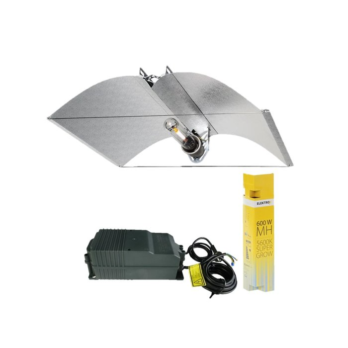 Lampen Bouwset MH 600W Elektrox Super Grow + Azerwing Medium