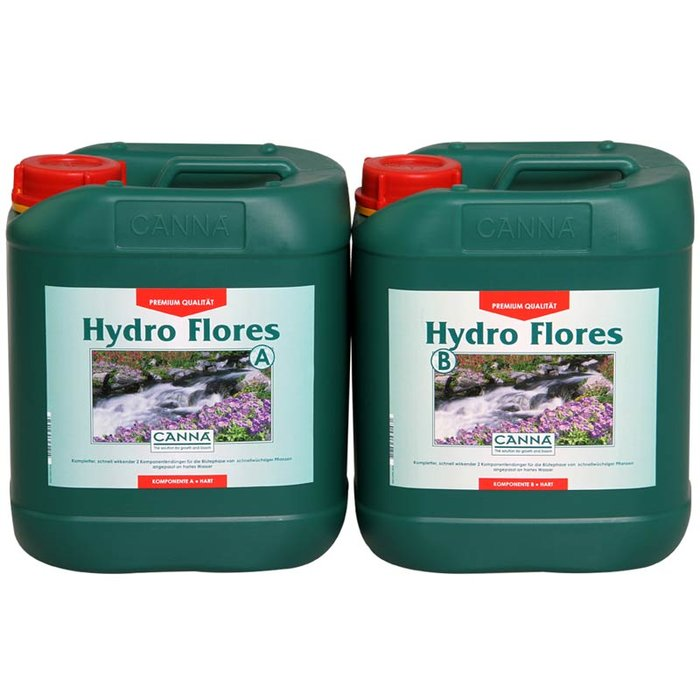 CANNA Hydro Flores A + B voor hard wate